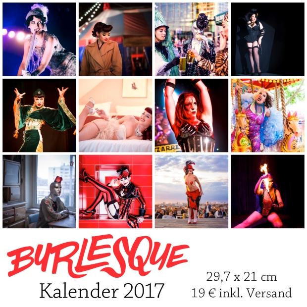 Burlesque Kalender 2017